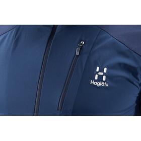 Haglöfs Skarn Hybrid Veste Homme, tarn blue